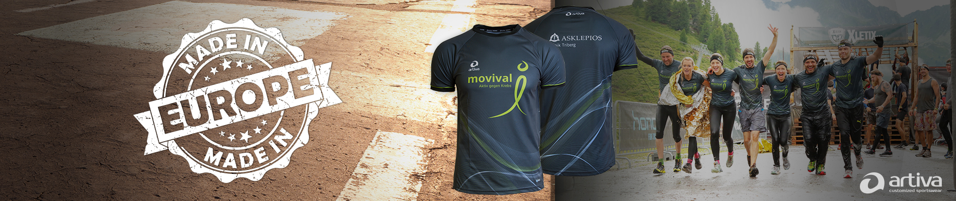 artiva customized sportswear