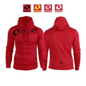 artiva Special Hoodie Frauen Rot