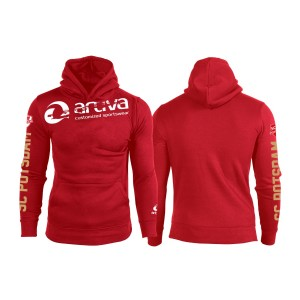SC Potsdam Hoodie Special Kinder rot