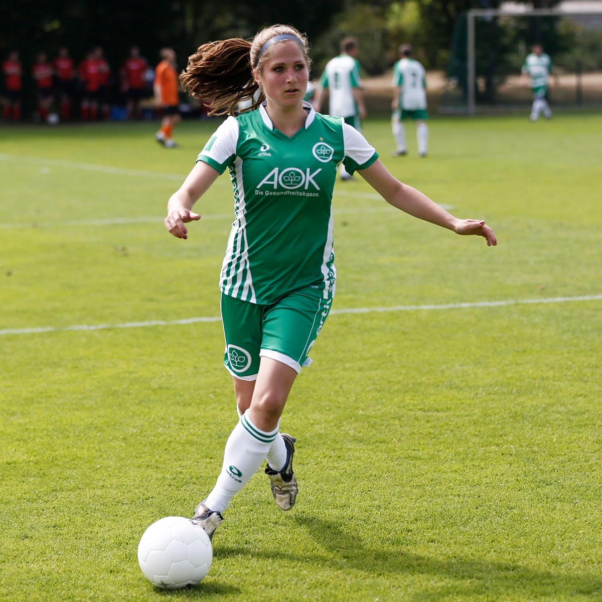 uk availability af6b8 40928 Damen Fußball Trikot selbst gestalten