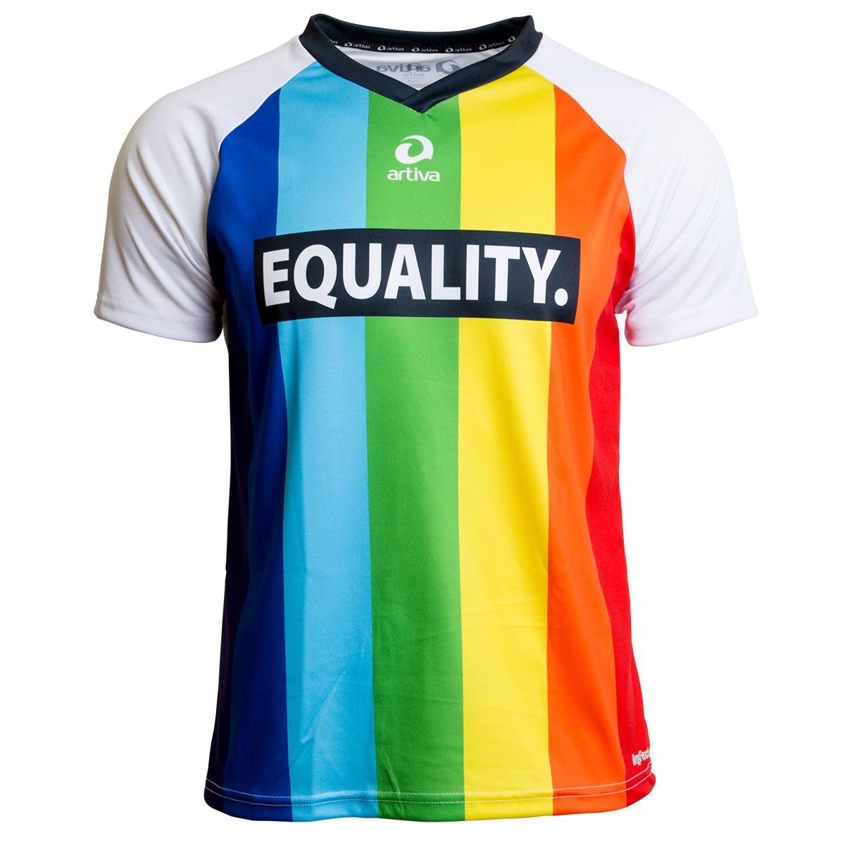 Regenbogenshirt Regenbogen Laufshirt Für Männer Equality Shirt