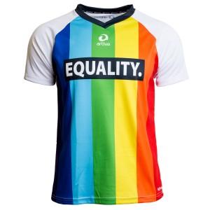 Regenbogen-Funktions-Shirt Männer