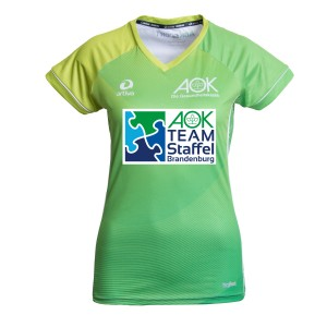 AOK Teamstaffel Laufshirt-Damen Classic