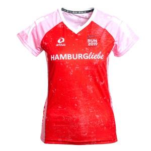 Hamburg Running-Shirt, Frauen