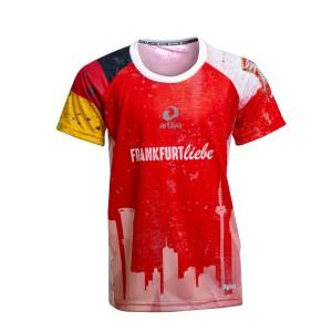 Frankfurt Liebe Running Shirt Girl