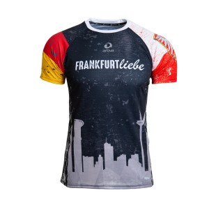 Frankfurt Liebe Running-Shirt Herren