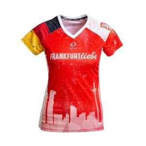 Frankfurt Liebe Running-Shirt Damen