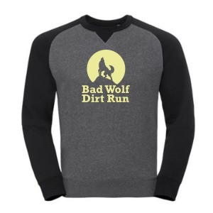 BAD WOLF Dirt Run Logo Sweatshirt