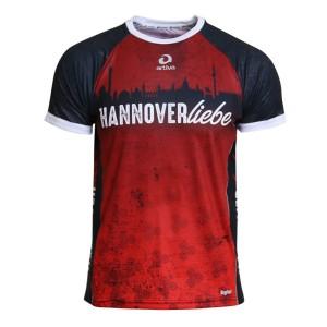 HANNOVER Laufshirt (rot) für Männer
