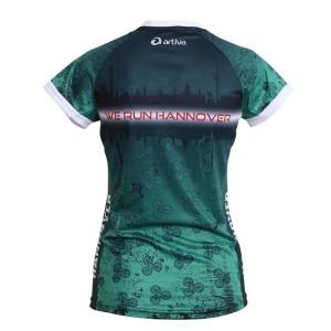 HANNOVER Laufshirt (grün) für Frauen