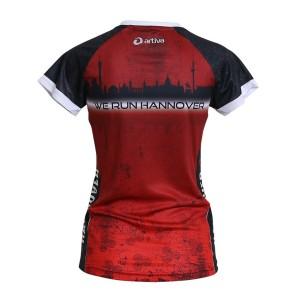 HANNOVER Laufshirt (rot) für Frauen