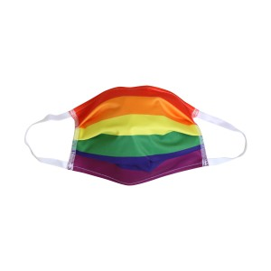 LGBT-RAINBOW Maske - unisex