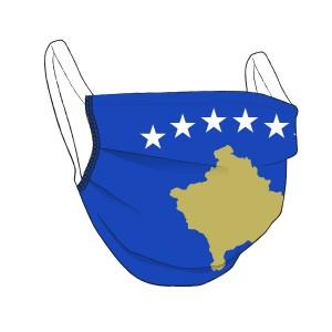 Kosovo-Maske - unisex