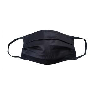PREMIUM BW/Polyester Maske schwarz, unisex