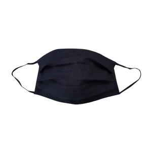 PREMIUM 100% Baumwoll-Maske , schwarz