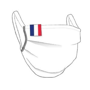 Masque tissu avec le drapeau de la FRANCE - unisexe