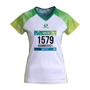 """V-RUN-Startnummer-Shirt """"SPRING"""" -  Frauen"""