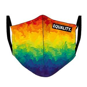 LGBT-Regenbogen Maske - camouflage
