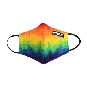 LGBT-Regenbogen FRAU Maske - camouflage