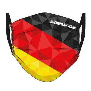 Deutschland Flagge MOSAIK Maske