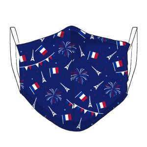 Dreiecksmaske FRANCE Feuerwerk