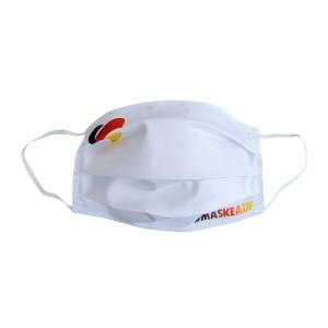Exklusive Corona Maske mit Deutschland Flagge in ♥ Herz-Form