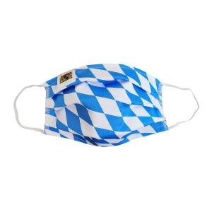 BAYERN Maske - KINDER himmelblau