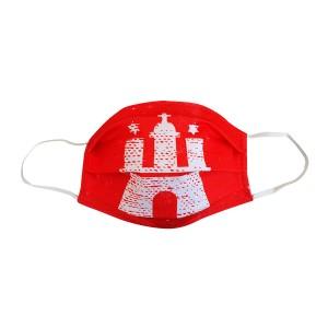 HAMBURG-Maske rot - KIDS