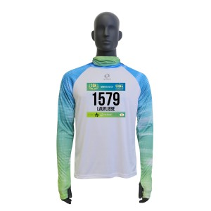 "V-RUN ""B"" Winter-Shirt inkl. Startnummer, Männer"